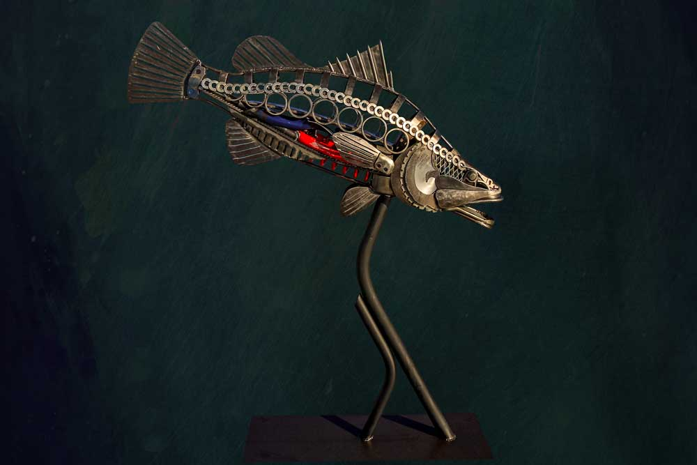 Barramundi Sculpture