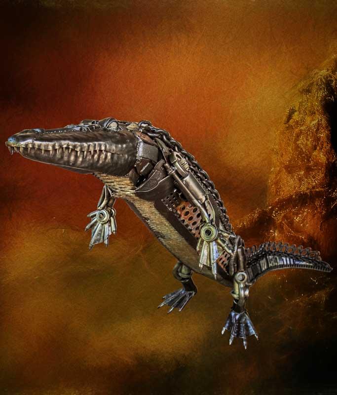 Sculpture Crocodile